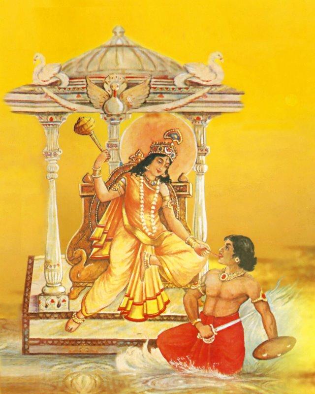 Goddess Bagalamukhi-devi-mata-dasa-mahavidiya