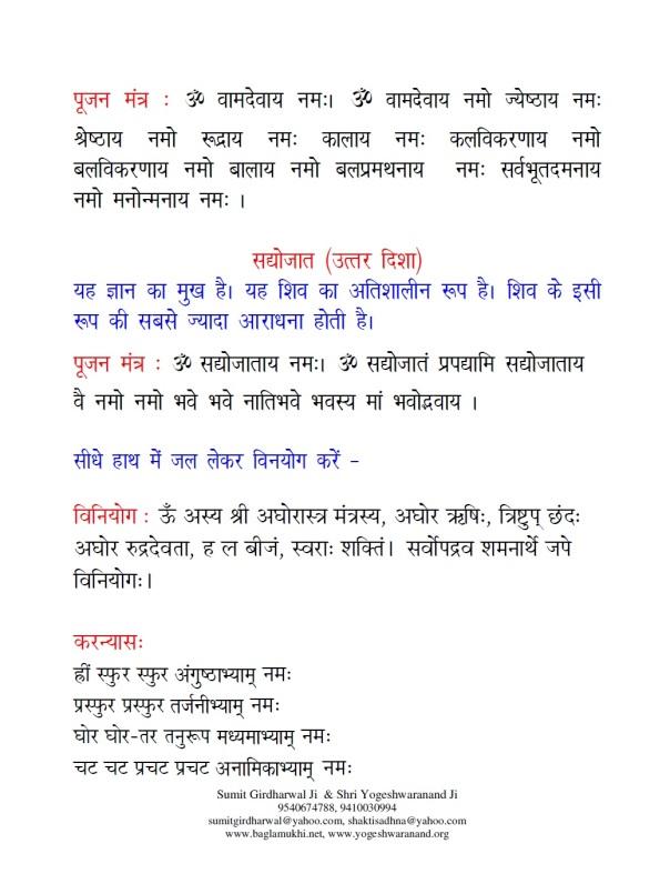 Shri yantra puja vidhi in hindi pdf