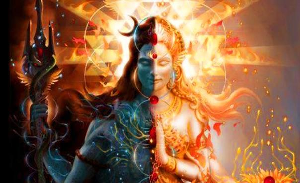 Lord Shiva & Shakti ( Ardhanarishwar form)