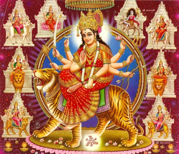 maa durga nava roop nine forms of shakti